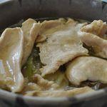 そば処 一松 - 料理写真:冷たい鶏そうめん5月=8月限定