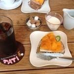 cafe TATI - アイスコーヒーとセットで