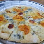 緑工房 - おまかせピザ(チーズ はちみつ)  \1200
