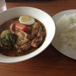 スープカレーゆうじ - チキンカレー