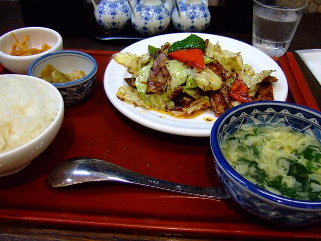 中嘉屋食堂 麺飯甜 仙台駅構内店 - 仙台(中華料理)