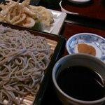 そば和食なごみ - 白海老 ざる 1,500円