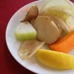 ソーセージレストランSMOKY - ランチ 前菜