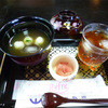 仙巌園 立礼茶席 竹徑亭 - 料理写真:冷やしぜんざい