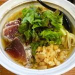 麺屋 NOROMA - ひやひや魚介そば(H25.8.18)