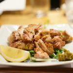旬の味 たき下 - 赤地鶏の炭火焼