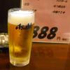 福ちゃん - ドリンク写真:セットの生ビール