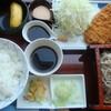 浜田山やぶ - 料理写真:とんかつ定食
