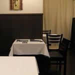 うぶか - テーブル席 (2013/08)