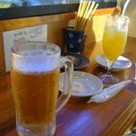 島のごちそう いるむてぃや - オリオンビールとサワー