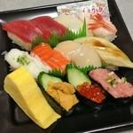 小僧寿し - 料理写真:しょうぶ(790円)