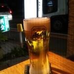 鳥料理の店ぽんた - 生ビール