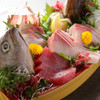 Kaisenizakayasansen - 料理写真:小田原の魚をボリュームいっぱいに盛り合わせた『ガッツリ盛り』