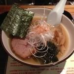 麺道 しゅはり - 潮ラーメン@2013/08/23