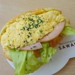 サワノ - 料理写真:タマゴサンド