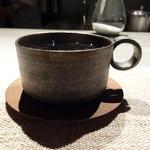 JAZZ茶房 靑猫 - ドリンク写真:作家物の珈琲カップ