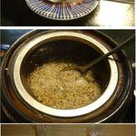 晴れたらいいね - そば茶に塩を振りかけデザートのかわり晴れたらいいね(宮城県黒川郡大和町)食彩賓館撮影