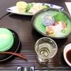 大仙家 - 料理写真:伊勢地鶏サラダ仕立てと地魚のお造り