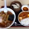 かっぱ飯店 - 料理写真:よくばりセットマーボー