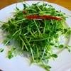 四川料理 江湖 - 料理写真:豆苗の油いため~甘みもあり噛んでるといろんな味がして美味しいです!