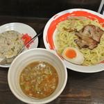 つけ丸 - 濃厚つけ麺+ミニ炒飯