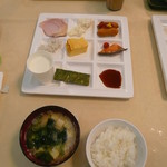 鬼怒川グリーンパレス - 朝のお替りです