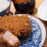 豚組食堂 - スタンダード銘柄豚ロースかつ膳(2倍)【2013年8月】