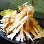 家康 - 大根サラダ380円