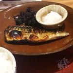 大戸屋 ごはん処 - さばの炭火焼き定食 730円