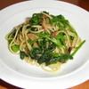 CAFE EST - 料理写真:アンチョビとほうれん草のスパゲティ