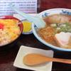 たるまい軒 - 料理写真:ラーメン・玉子丼セット