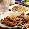 炭火焼鳥 壱庵 - 料理写真:「土佐備長炭」で焼き上げた串と、お酒の相性はバツグンです!!