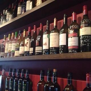 コスパ最高のワインが豊富に揃います。