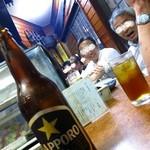 お加代 本店 - ビール600円