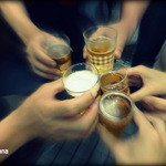 三久ラーメン - 乾杯!