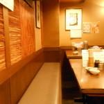 串エ門 - テーブル席