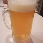 バーベキューガーデン - 地ビール(ヘレス)