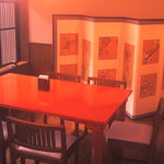 さ和い - 2Fテーブル席。