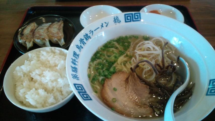 博多烏骨鶏ラーメン龍 天草店