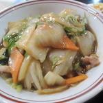 中華料理 アモイ - 火の通りが弱いので野菜が硬い><