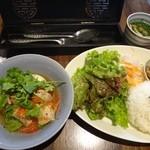 バタフライ カフェ - ランチセット(1200円)