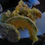 蕎麦と旬菜 ZEN - 舞茸(野菜の天ぷら)