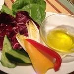 イル メルカート アンジェロ - そのまま食べた方が野菜の甘みがわかるような…