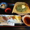 すし善 - 料理写真:茶そば涼セット1260円