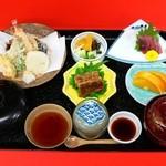 うなぎ割烹 康川 - 天婦羅定食