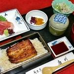 うなぎ割烹 康川 - 康川磯定食