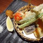 2102973 - 鮎と夏野菜の天ぷら