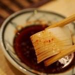 葵 - タコの頭も唐辛子醤油で