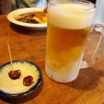唯我独尊 - 独尊地麦酒 輝(ピルスナー)の生ビール