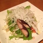 散歩亭 - 豆腐のサラダ ¥650